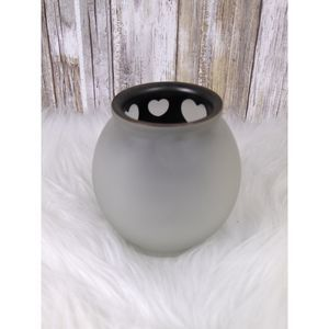 Partylite Heart Candle Holder Tealite Shadows
